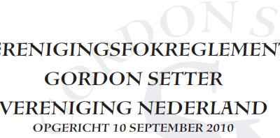 Wijziging Verenigingsfokreglement (VFR)